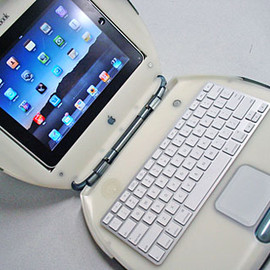 Apple - iPad in iBook(Clamshell)