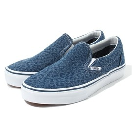 VANS - VANS DENIM LEOPARD SLIP ON