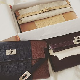 HERMES - kelly long wallet