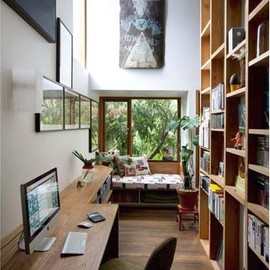 office / woody