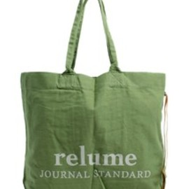JOURNAL STANDARD relume - JOURNAL STANDARD relume / RE SHOPPING TOTE / グリーン