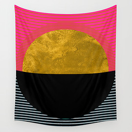 Society6 - Abstract Sunset Wall Tapestry