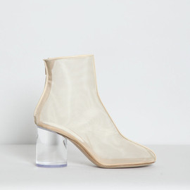 Maison Martin Margiela 22 - Leather Trim Mesh Ankle Boot