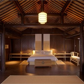Amanfayun - Our Bedroom, Aman Resorts, Hangzhou, China