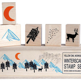 Yellow Owl Workshop - Winterscape Stamp Set