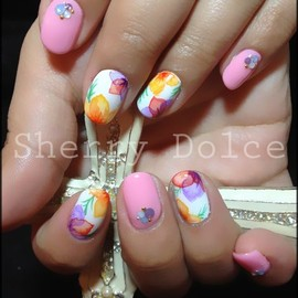 nails - flower