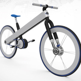 Francisco Ulla - Toyota hybrid electric bike concept