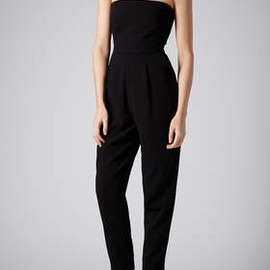 TOPSHOP - Tailored Bandeau Jumpsuit
