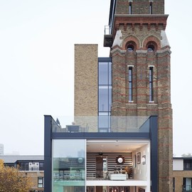 London - Water Tower Turned London Residence