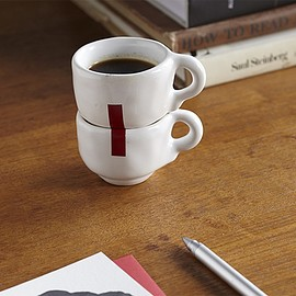 Nathan Lynch - Individually made espresso and cappuccino cups-THE THING quarterly