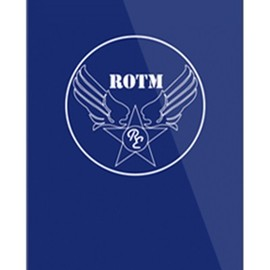 SECOND SKIN - R.O.T.M air force ネイビー (クリア) design by ROTM / for iPhone 5s/au