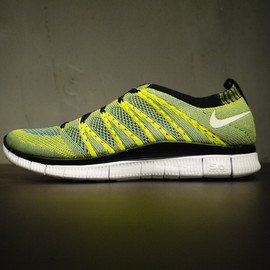 Nike - Flyknit Free 5.0 HTM SP - Tour Yellow/Light Charcoal?