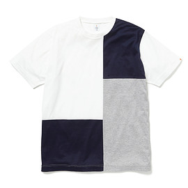HEAD PORTER PLUS - PANEL TEE WHITE