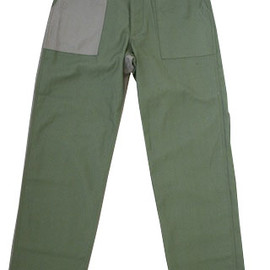Engineered Garments Workaday - Sateen Fatigue Pants,Combo