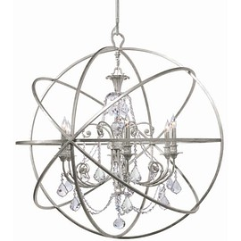 Restoration Warehouse - Grand Solaris Chandelier - Olde Silver