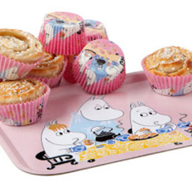 Moomin - Trey and cake cup