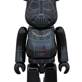 MEDICOM TOY - BE@RBRICK DARTH VADER(TM) CHROME Ver.100%