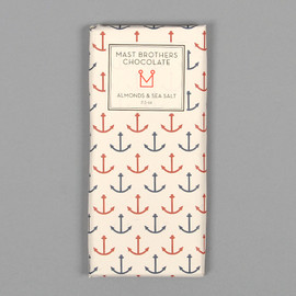 Mast Brothers - Almonds & Sea Salt Chocolate Bar