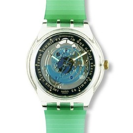 Swatch - Time To Move (1992 EARTH SUMMIT in Brazil Model)
