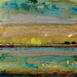 InGallery.com - Global Climate II by Douglas Fine Art Canvas 12 x 12 in Gallery Wrap Wall Decor