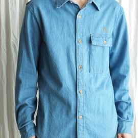 three blind mice - 6oz COMBINATION DENIM SHIRT