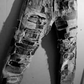 destruction jeans(levi's 501 Remake Jeans)