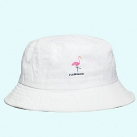 DL HEADWEAR - FLAMMA BUCKET HAT(WHITE)