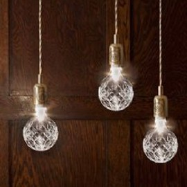 . - Crystal Bulb and Pendant Light