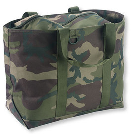 L.L.Bean - Hunter's Tote Bag, Zip-Top, Camouflage
