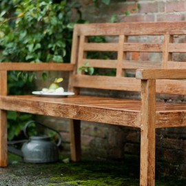 Chastleton Bench in Reclaimed Teak