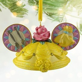 Disney - Belle Ear Hat Ornament
