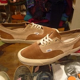 "vans - 「<used>70-80s vans Style95(SUEDE) beige/brown""made in USA"" size:US9/h(27.5cm) 17800yen」完売"