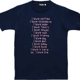 ice-mix - I Love Tシャツ