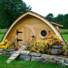 My Pet Chicken - Hobbit Hole Chicken Coop