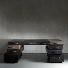 Maarten De Ceulaer - A Desk of Briefcases