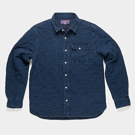 Best Made Company - The Quilted Indigo Overshirt