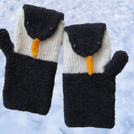 morehouse - Penguin Mitts KnitKit