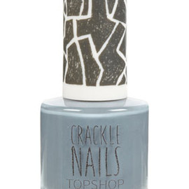 Topshop - Crackle Topcoat in Wallstreet