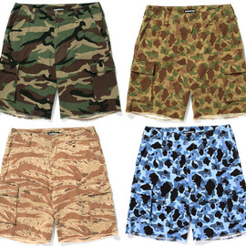 SANTASTIC! - CUT OFF CAMO SHORT