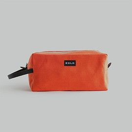 KOLO - Kolo Parker Travel Pouch - Size Large - Color Mango