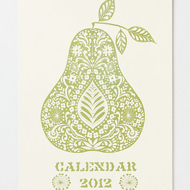 Anthropologie - Harvest Calendar 2012