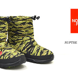 THE NORTH FACE - NUPTSE BOOTIE IV Tiger Camo