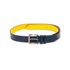 FRED PERRY - Leather Adjustable Belt