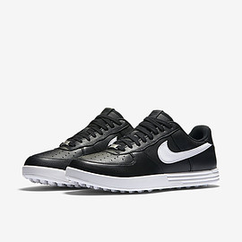 Nike Golf - Lunar Force 1 (Golf) - Black/White/White