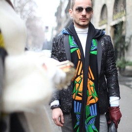 street - Milan Men's Fashion Week street style. [Photo by Kuba Dabrowski]