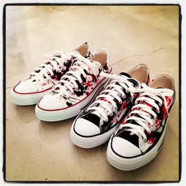 CONVERSE - title. exclusive code;c All Star Lo Custom