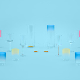 scholten & baijings for HAY - colour glasses