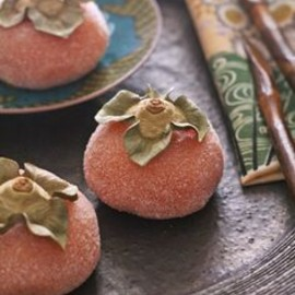 Japanese sweets - persimmon mochi