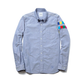uniform experiment - COLOR CHART LINE SLEEVE B.D SHIRT