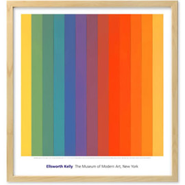 Ellsworth Kelly - Spectrum,IV (Natural Frame)